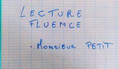 Lecture Fluence CM2  Que donnent les exercices ?