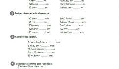 Maths Mesures & Grandeurs fiches i-prof CM2