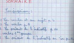 Français CM1 Période 1 : bilan des avancées 5