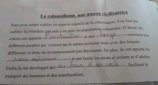 cm2 les bienfaits de la colonisation