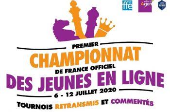 Championnat France U10 Blitz en ligne