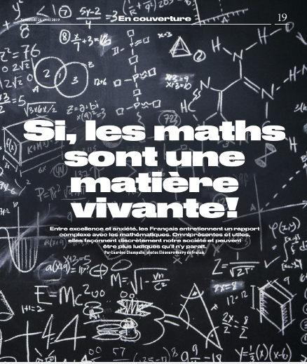 les maths sont une matière vivante