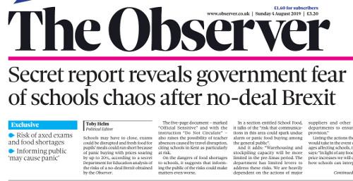 conséquences brexit dur