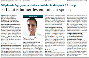 education au sport